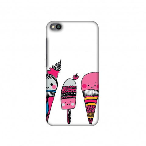 Ice Creams Slim Hard Shell Case For Redmi Go