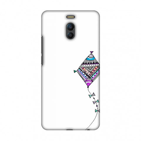Doodle Kite - Transparent Slim Hard Shell Case For Meizu Note 6