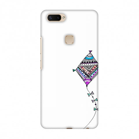 Doodle Kite - Transparent Slim Hard Shell Case For Vivo X20 Plus
