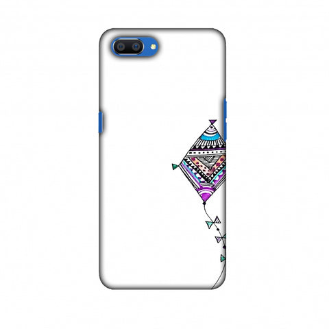 Doodle Kite - Transparent Slim Hard Shell Case For Oppo Realme C1