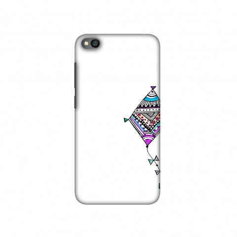 Doodle kite Slim Hard Shell Case For Redmi Go