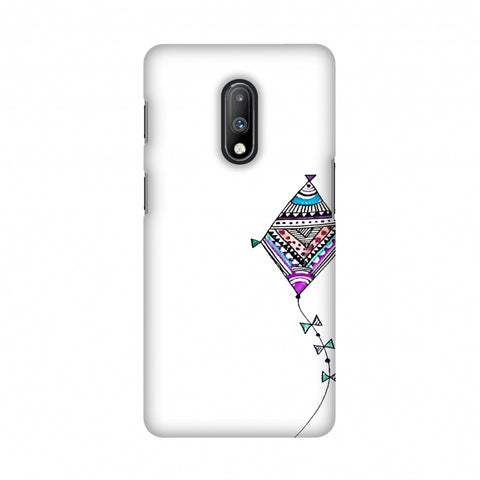 Doodle kite Slim Hard Shell Case For OnePlus 7