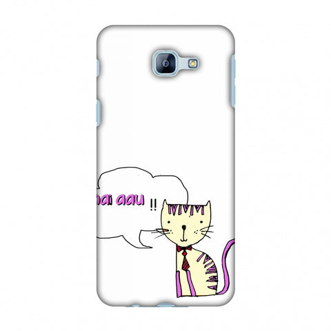 Mai Aau Kitty - Transparent Slim Hard Shell Case For Samsung Galaxy A8 2016