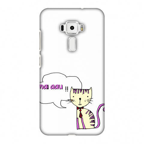 Mai Aau Kitty - Transparent Slim Hard Shell Case For Asus Zenfone 3 ZE520KL