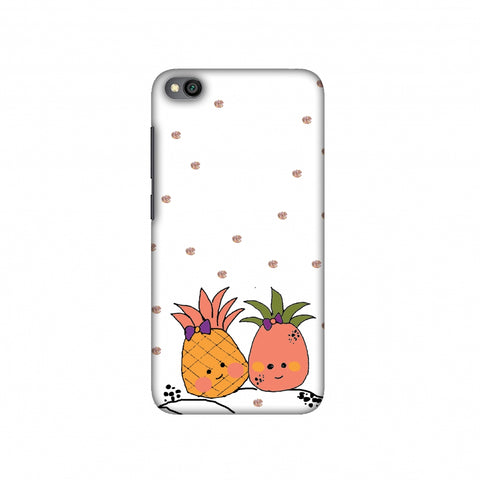 Pineapple blush Slim Hard Shell Case For Redmi Go