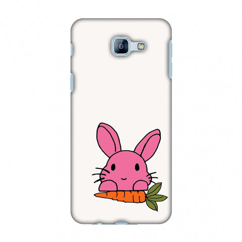 Carrot My Favourite - White Slim Hard Shell Case For Samsung Galaxy A8 2016