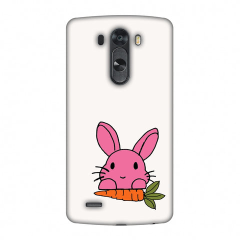 Carrot My Favourite - White Slim Hard Shell Case For LG G4