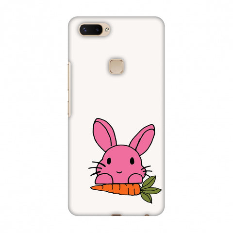 Carrot My Favourite - White Slim Hard Shell Case For Vivo X20 Plus