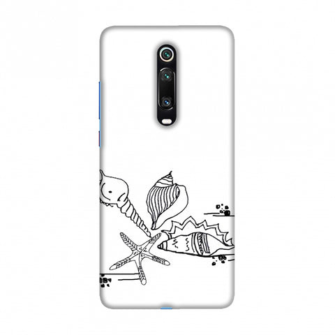 Sea Shells Slim Hard Shell Case For Redmi K20/K20 Pro