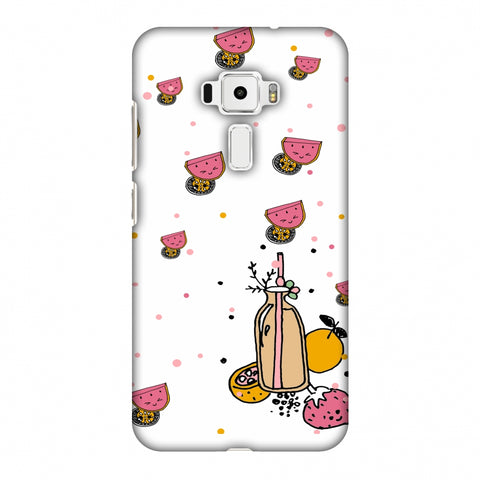 Fruity Shake - White Slim Hard Shell Case For Asus Zenfone 3 ZE520KL