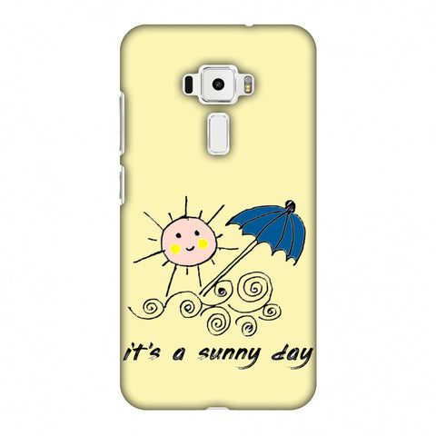 Sunny Day - Yellow Slim Hard Shell Case For Asus Zenfone 3 ZE520KL