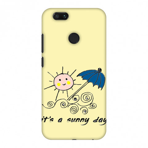 Sunny Day - Yellow Slim Hard Shell Case For Xiaomi MI A1-5X