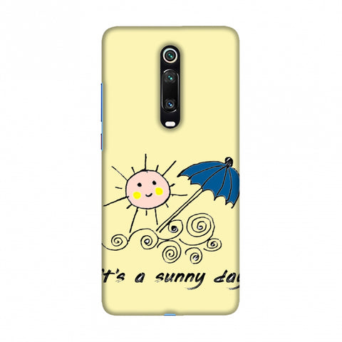 Sunny day- Yellow Slim Hard Shell Case For Redmi K20/K20 Pro