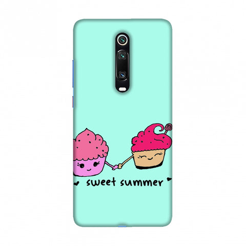 Sweet summer- Blue Slim Hard Shell Case For Redmi K20/K20 Pro