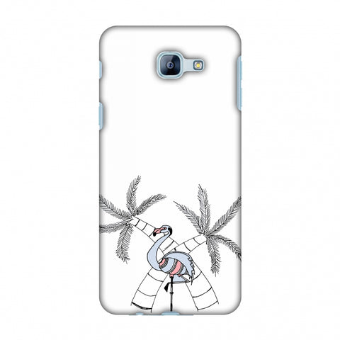 Flamingo And Palm Trees Slim Hard Shell Case For Samsung Galaxy A8 2016