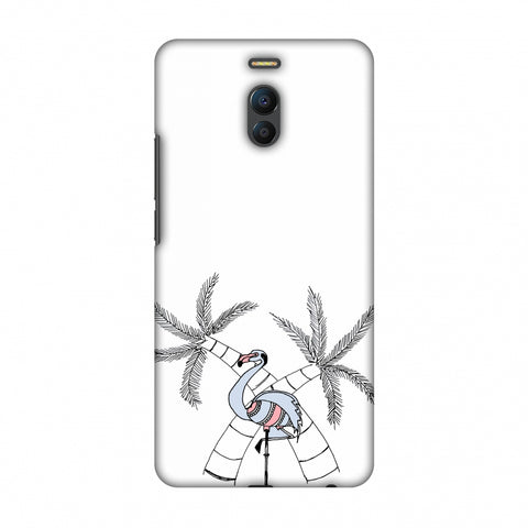 Flamingo And Palm Trees Slim Hard Shell Case For Meizu Note 6