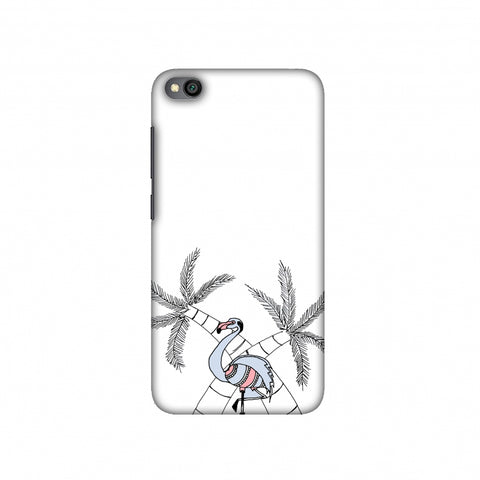Flamingo and palm trees Slim Hard Shell Case For Redmi Go