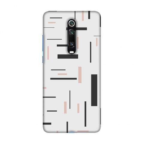 Capsules- Brown grey Slim Hard Shell Case For Redmi K20/K20 Pro