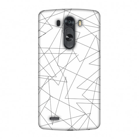 Criss Cross - Beige Slim Hard Shell Case For LG G4