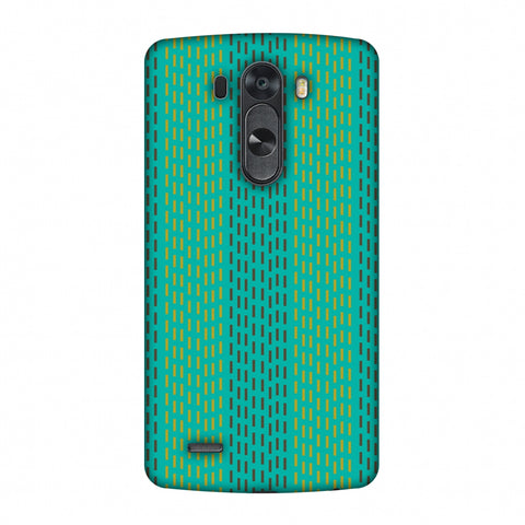 Kantha Geometric - Teal Slim Hard Shell Case For LG G4