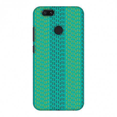 Kantha Geometric - Teal Slim Hard Shell Case For Xiaomi MI A1-5X