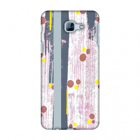 Paint Strokes - Steel Grey Slim Hard Shell Case For Samsung Galaxy A8 2016