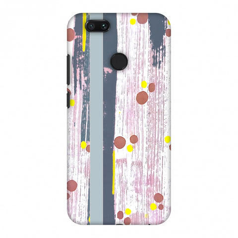 Paint Strokes - Steel Grey Slim Hard Shell Case For Xiaomi MI A1-5X