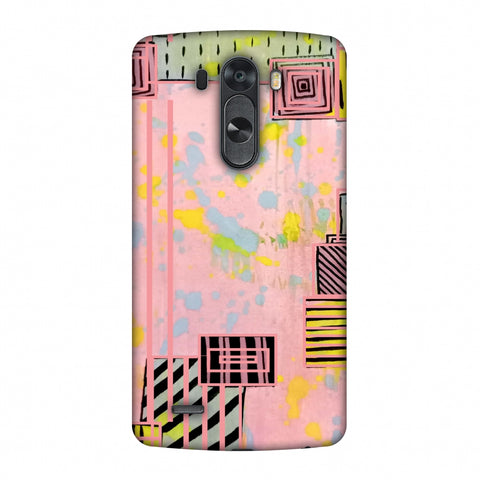 Overall Blocking - Pink Slim Hard Shell Case For LG G4