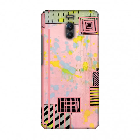 Overall Blocking - Pink Slim Hard Shell Case For Meizu Note 6