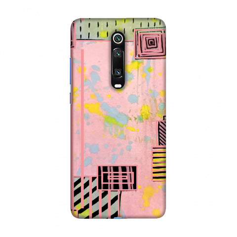 Overall blocking- Pink Slim Hard Shell Case For Redmi K20/K20 Pro