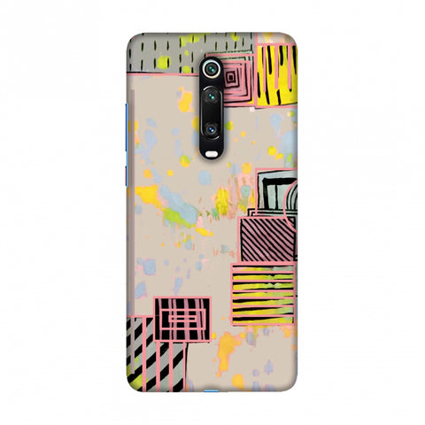 Overall blocking- Beige Slim Hard Shell Case For Redmi K20/K20 Pro