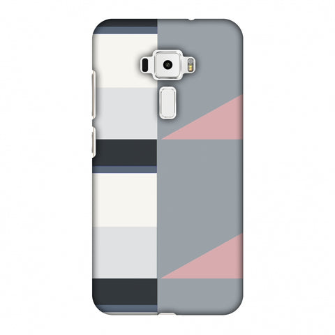 Multi Shapes - Soot Grey Slim Hard Shell Case For Asus Zenfone 3 ZE520KL