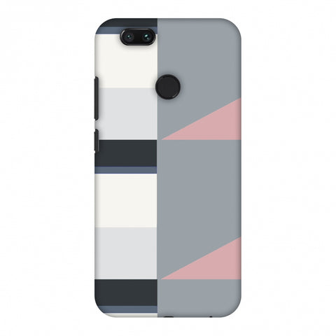 Multi Shapes - Soot Grey Slim Hard Shell Case For Xiaomi MI A1-5X