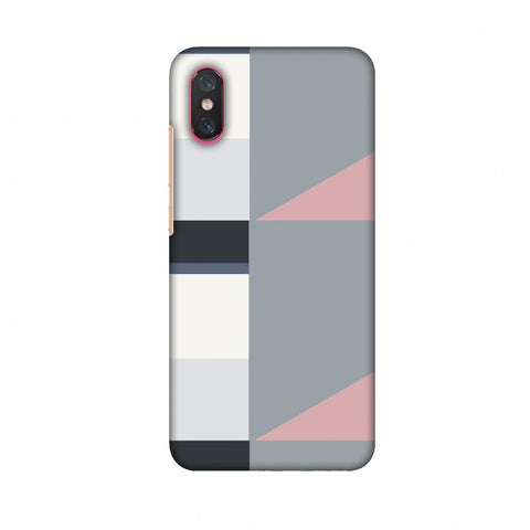 Multi Shapes - Soot Grey Slim Hard Shell Case For Xiaomi Mi 8 Pro