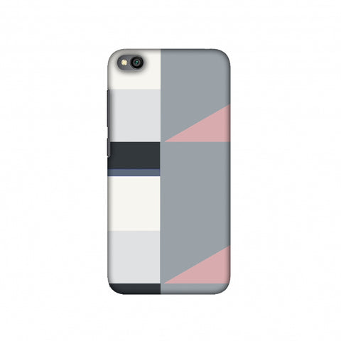 Multi shapes- Soot grey Slim Hard Shell Case For Redmi Go