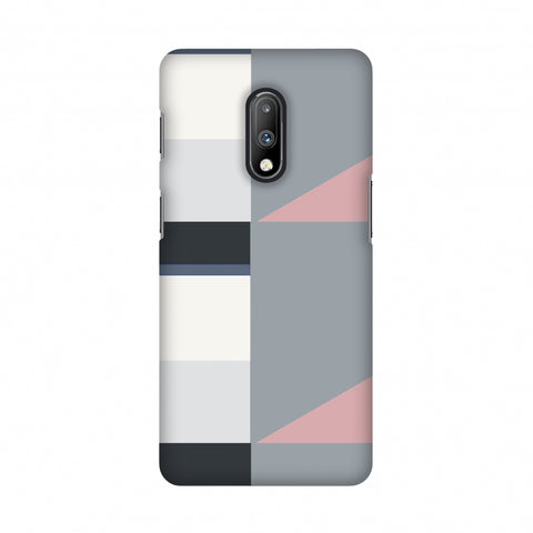 Multi shapes- Soot grey Slim Hard Shell Case For OnePlus 7