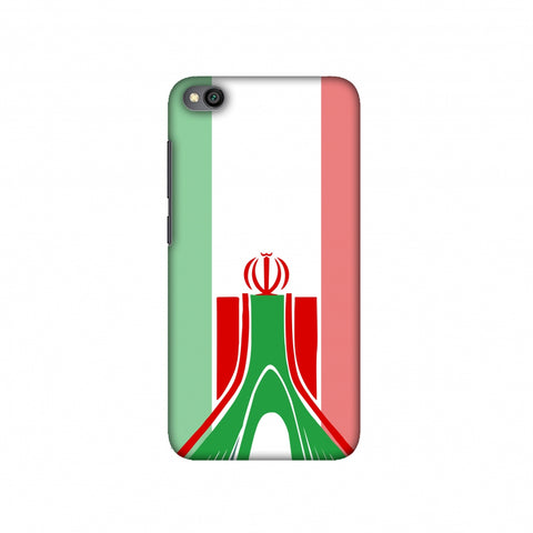 Azadi Monument- Iran flag Slim Hard Shell Case For Redmi Go