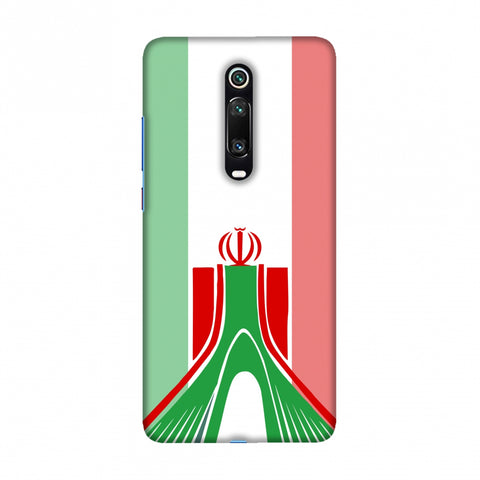 Azadi Monument- Iran flag Slim Hard Shell Case For Redmi K20/K20 Pro