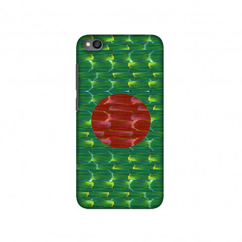 Bangladesh flag- Paint strokes Slim Hard Shell Case For Redmi Go