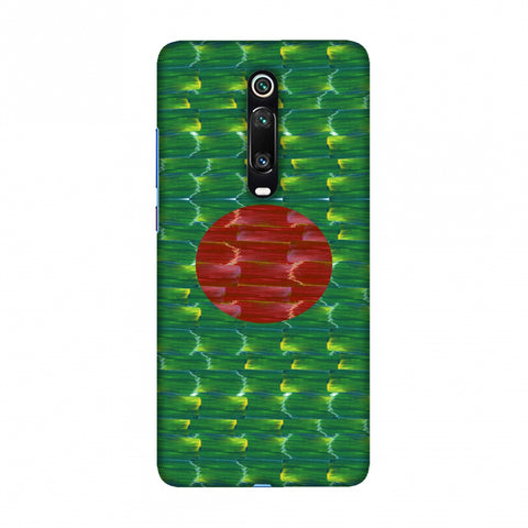 Bangladesh flag- Paint strokes Slim Hard Shell Case For Redmi K20/K20 Pro