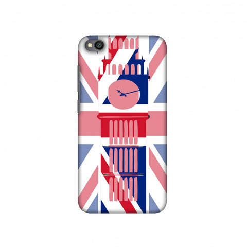 Big Ben- UK flag Slim Hard Shell Case For Redmi Go
