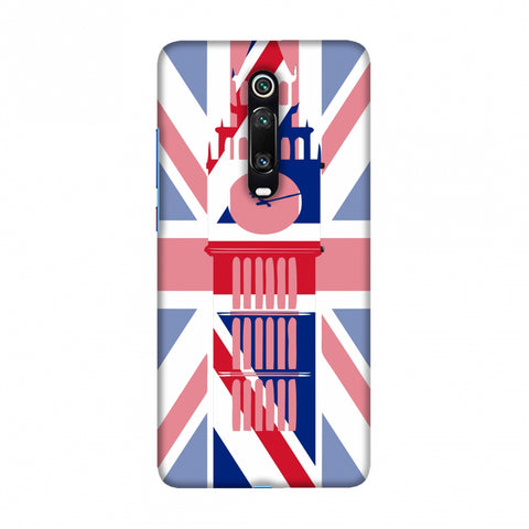 Big Ben- UK flag Slim Hard Shell Case For Redmi K20/K20 Pro