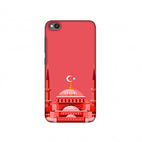 Blue mosque- Turkey flag Slim Hard Shell Case For Redmi Go