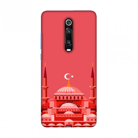 Blue mosque- Turkey flag Slim Hard Shell Case For Redmi K20/K20 Pro