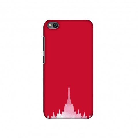 Borobudur- Indonesia flag Slim Hard Shell Case For Redmi Go