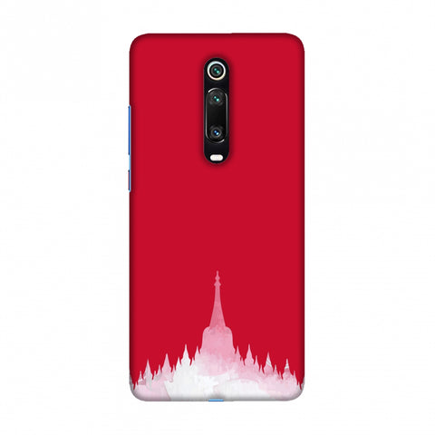 Borobudur- Indonesia flag Slim Hard Shell Case For Redmi K20/K20 Pro