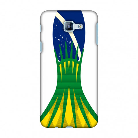 Cathedral Of Brasilia - Brazil Flag Slim Hard Shell Case For Samsung Galaxy A8 2016