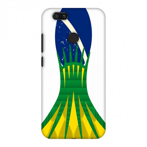 Cathedral Of Brasilia - Brazil Flag Slim Hard Shell Case For Xiaomi MI A1-5X