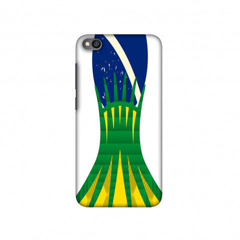 Cathedral of brasilia- Brazil flag Slim Hard Shell Case For Redmi Go