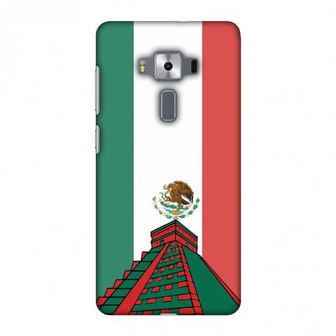 Chichen Itza - Mexico Flag Slim Hard Shell Case For Asus Zenfone 3 Deluxe ZS570KL